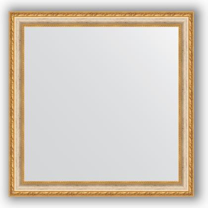 Зеркало в багетной раме 75x75см версаль кракелюр 64мм Evoform BY 3237