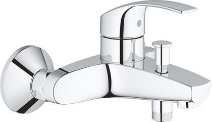 Смеситель для ванны Grohe Eurosmart однорычажный с изливом, хром 33300002