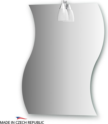 Зеркало со светильником 60x75см Ellux ROM-A1 0114