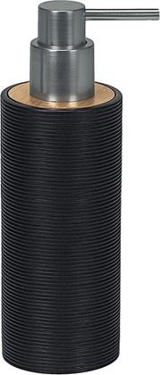 Ёмкость для жидкого мыла полирезин/бамбук, чёрный Kleine Wolke Kyoto 5079926854