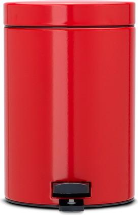 Мусорный бак с педалью 3л, пламенно-красный Brabantia 105944