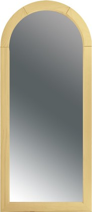 Зеркало в раме из светлой сосны 46x105см Dubiel Vitrum DR 5905241050607