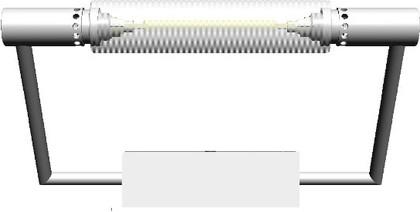 Светильник для зеркала настенный/потолочный Colombo GALLERY B1391