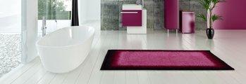 Набор ковриков для ванной Grund Avalon, 60x100см, 50x60см, полиакрил, ягодный b3623-16171/60171