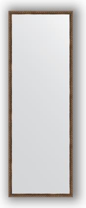 Зеркало 48x138см в багетной раме витая бронза Evoform BY 1062