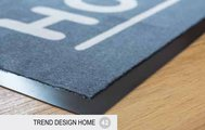 Коврик придверный 39x75см для помещения серый, полиамид Golze TREND DESIGN HOME 1650-19-42