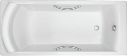Ванна чугунная 170x75см с отверстиями для ручек, Antislip Jacob Delafon BIOVE E2938-00