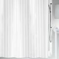 Штора для ванны 240x180см текстильная белая Spirella Magi Satin 1011135