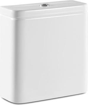 Бачок 4/2л с двойным сливом белый, нижний подвод для унитаза Clean Rim, установка к стене Roca The GAP 341730000