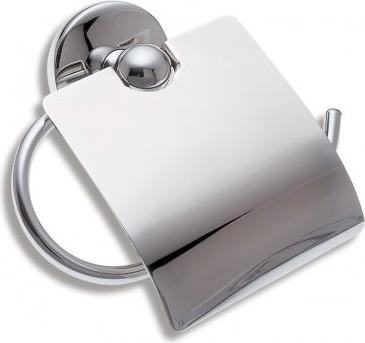 Держатель туалетной бумаги с крышкой Novaservis 6138.0