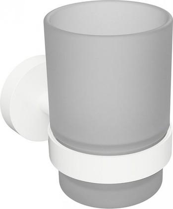 Стакан для зубных щёток Bemeta White, белый 104110014