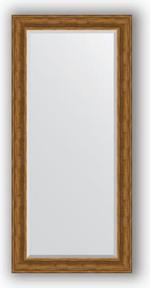 Зеркало с фацетом в багетной раме 79x169см травленая бронза 99мм Evoform BY 3602