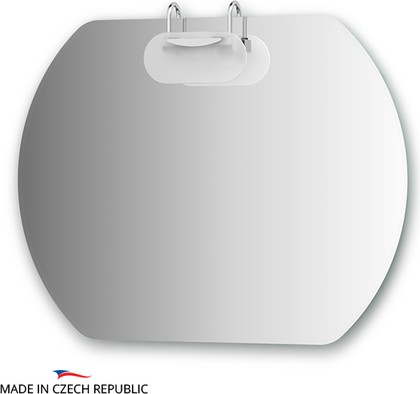 Зеркало со светильником 90x70см, Ellux MOD-I1 0032