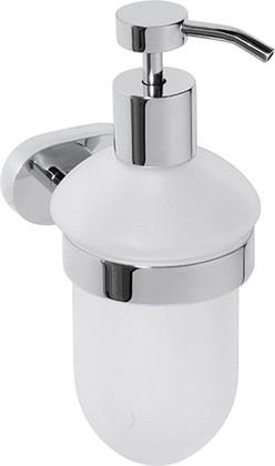 Дозатор для жидкого мыла 75х170х110мм Bemeta Oval 118409011
