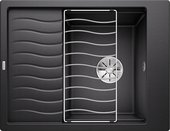 Кухонная мойка Blanco Elon 45S, клапан-автомат, антрацит 524814
