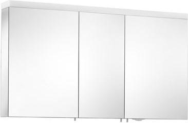 Зеркальный шкаф 130x70см с подсветкой трёхдверный Keuco ROYAL REFLEX 24005171301