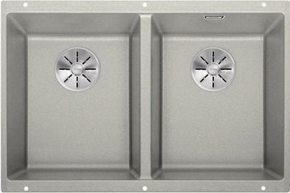 Кухонная мойка Blanco Subline 350/350-U, отводная арматура, жемчужный 523577