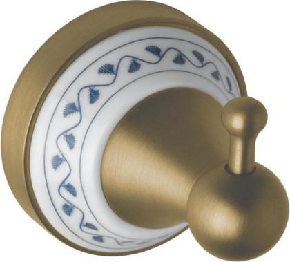 Крючок для полотенец Bemeta Kera, керамика, бронза 144706017