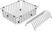 Корзина для посуды Omoikiri CO-03-IN, нержавеющая сталь 4999013