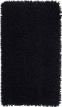 Коврик для ванной 70x115см чёрный Grund CORALL 892.83.014