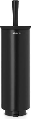 Туалетный ёршик Brabantia Black настенный, чёрный 483349
