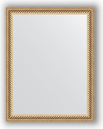 Зеркало 35x45см в багетной раме витое золото Evoform BY 1327