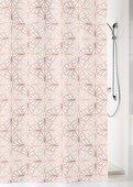 Шторка для ванной Kleine Wolke Bloom Pearl 180x200см, 100% Peva 5945398305
