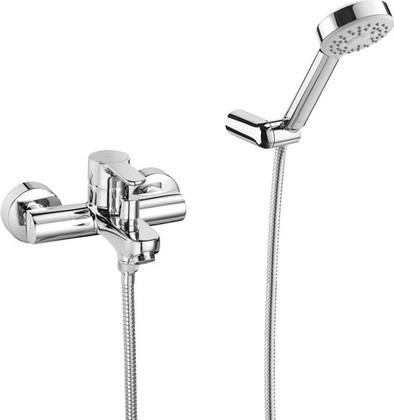 Смеситель однорычажный для ванны с душевым гарнитуром, хром Roca L20 5A0109C02