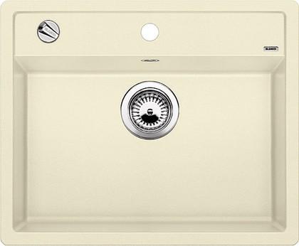 Кухонная мойка без крыла, с клапаном-автоматом, гранит, жасмин Blanco Dalago 6-F 517657