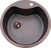 Кухонная мойка без крыла, медь натуральная Omoikiri Sumida OSU-51-1-CO