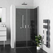 Душевая дверь Roltechnik Lega Lift LZCN2, 80см, прозрачное стекло, хром 230-8000000-00-02