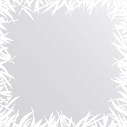 Зеркало для ванной с орнаментом 70x70см FBS CZ 0748