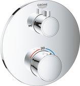 Смеситель для душа Grohe Grohtherm с термостатом, 2 потребителя, хром 24077000