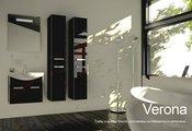 Мебель для ванной Verona, коллекция VERONA, Шкаф-пенал подвесной, ширина 30см, 2 дверцы, петли слева, артикул VN302L
