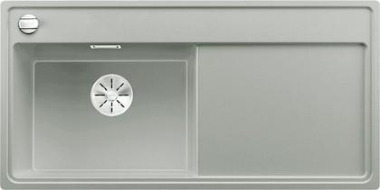 Кухонная мойка Blanco Zenar XL 6S, чаша слева, клапан-автомат, жемчужный 523977