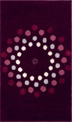 Коврик для ванной 60x100см фиолетовый с кристаллами Сваровски Grund CRYSTAL BLOSSOM 3344.16.022