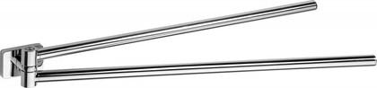 Держатель полотенец двойной поворотный, хром Bemeta Niki 153104191