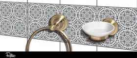 Держатель запасных рулонов туалетной бумаги Bemeta Retro, бронза 144112037