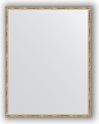 Зеркало 67x87см в багетной раме серебро-бамбук Evoform BY 0677
