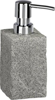 Ёмкость для жидкого мыла серая Wenko Granit 20438100
