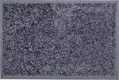 Коврик придверный Golze Proper Tex Uni 60х90, сине-серый 618-55-41
