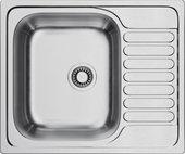 Кухонная мойка Omoikiri Kashiogawa 60-IN, с крылом, оборачиваемая, нержавеющая сталь 4993274