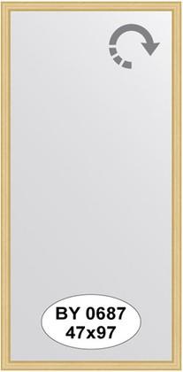 Зеркало 47x97см в багетной раме сосна Evoform BY 0687