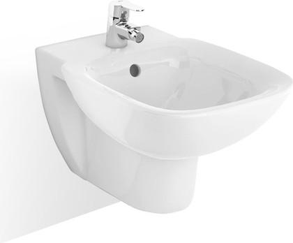 Керамическое подвесное биде 355 х 540 мм, белое Roca DEBBA 355995000