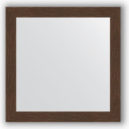 Зеркало в багетной раме 76x76см мозаика античная медь 70мм Evoform BY 3241