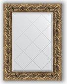 Зеркало Evoform Exclusive-G 560x730 с гравировкой, в багетной раме 84мм, фреска BY 4012