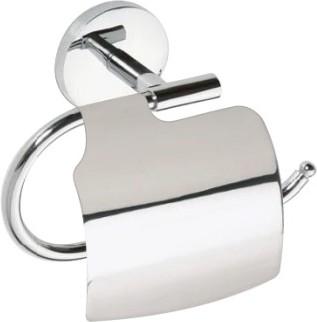 Держатель для туалетной бумаги с крышкой, хром Bemeta Alfa 102412012