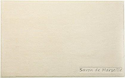Коврик для ванной комнаты полиэстер 50x80см натуральный Spirella Savon De Marseille Sormiou 4007292