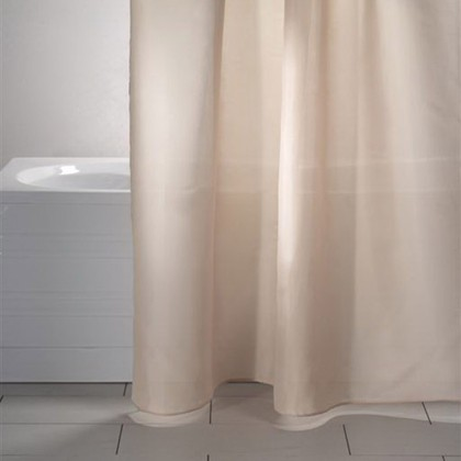 Штора для ванной Grund Madison, 240x200см, текстиль, бежевый 346.99.136