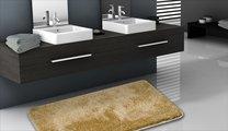 Коврик для ванной 50x80см бежевый Grund Melos 2559.11.4136